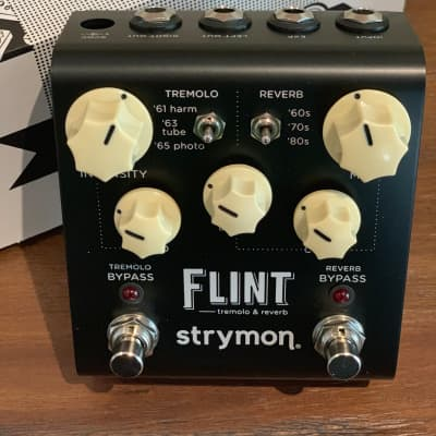 Strymon Flint Reverb and Tremolo Pedal 2018 Black