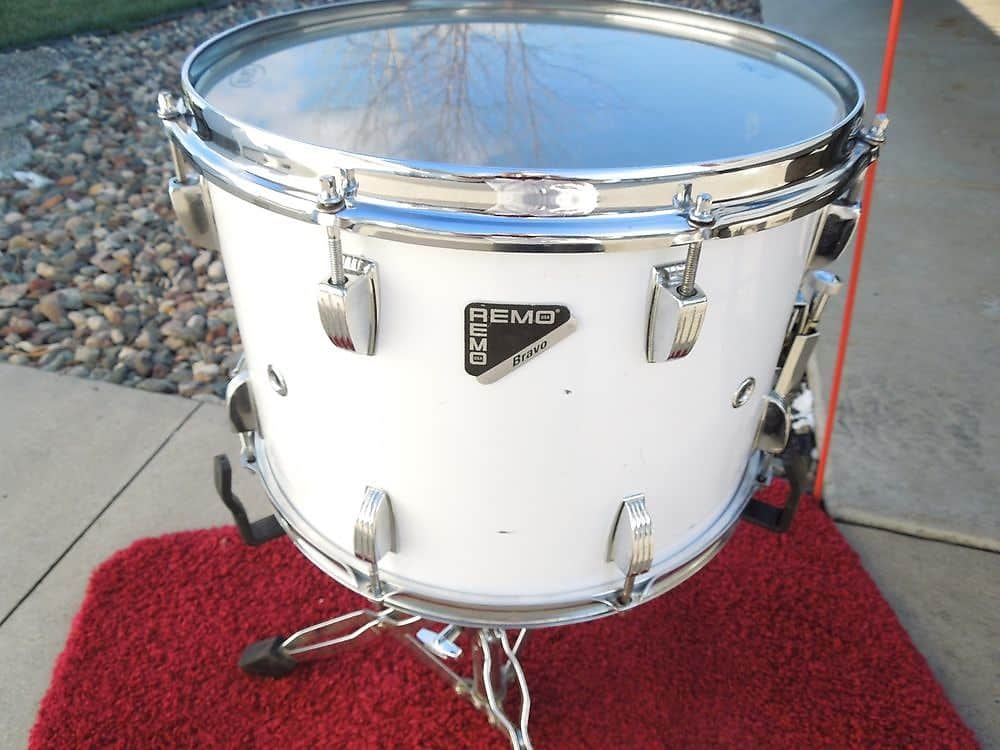 remo marching snare drum acousticon bravo 10x14 snare drum reverb. Black Bedroom Furniture Sets. Home Design Ideas