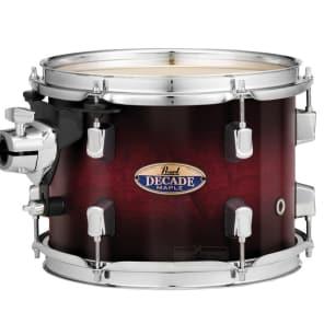 "Pearl Decade Maple 13""x9"" Tom - Gloss Deep Redburst"