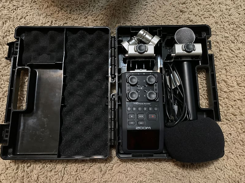 Zoom H6 Handy Recorder Blake S Gear Outlet Reverb