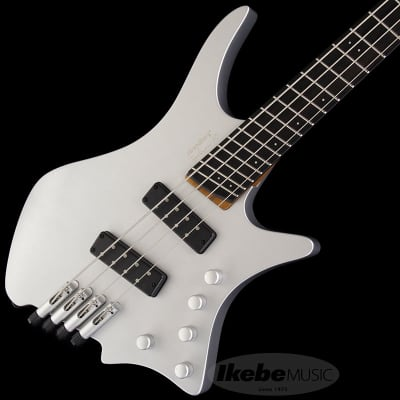Strandberg Boden Prog Bass 4 10th Anniversary Silver for sale