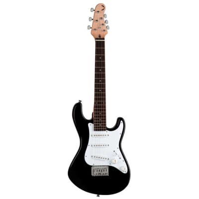 Dean Playmate Avalanche J 3/4 Size Electric Guitar Classic Black for sale