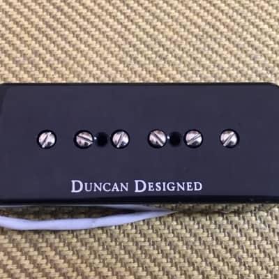006-2738-000 Squier by Fender Tele Custom II Duncan Designed P90 Bridge Pickup Black