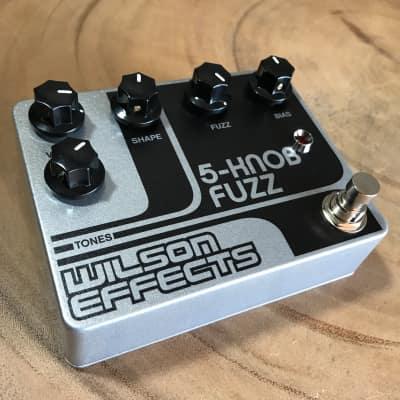 Wilson Effects 5-Knob Fuzz pedal with Bias control