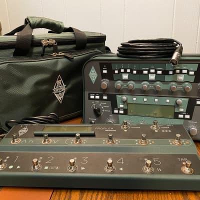 Kemper Amps Profiler Head Guitar Modeling Amp w/ Remote Controller Pedal and Kemper Bag