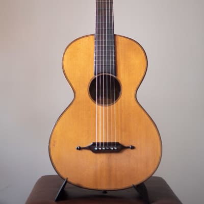 Original 19th Century Romantic Guitar (Thomas Simon Mittenwald 1820-1870) for sale