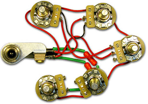 Rickenbacker 5 Control Wiring Harness Assembly 2 Volume