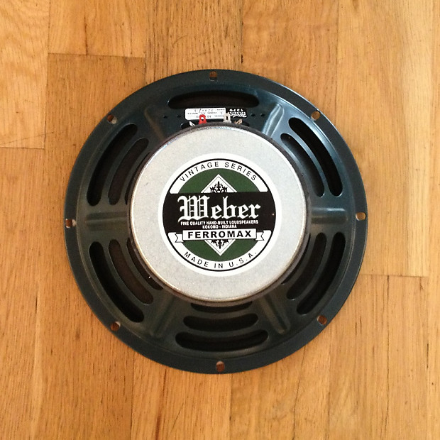 vintage weber replacement speakers