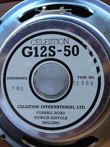 Celestion g12s 50