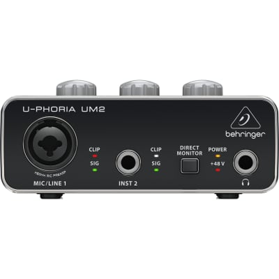 Behringer UM2 U-Phoria USB Audio Interface