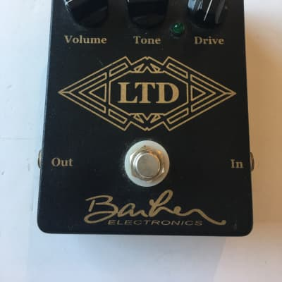 Barber Electronics LTD Overdrive Low Gain True Bypass Rare Guitar Effect Pedal for sale