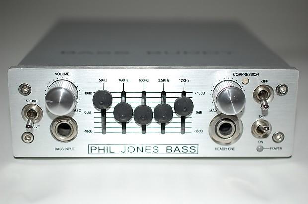 Phil Jones Bass Buddy Portable Bass Amp/EQ/Pre-Amp/D I  - MINT!