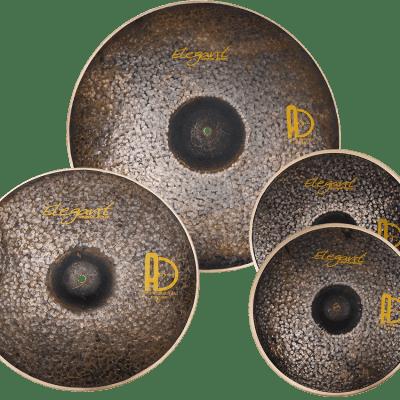 """Agean Cymbals Elegant Set - 20"""" Ride - 16"""" Crash - 14"""" Hi-hat"""