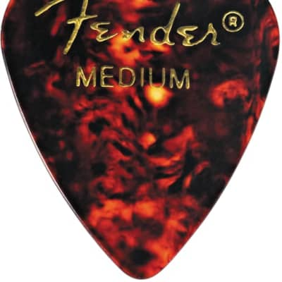 Fender Tortoise Shell, 351 Shape, Medium (12) for sale