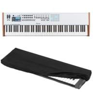 Arturia Keylab 88 MIDI/USB Keyboard Controller  w/ Kaces KKC-LG keyboard cover
