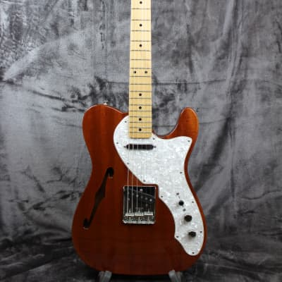Fender Classic Series '69 Telecaster Thinline 2011 Mahogany for sale