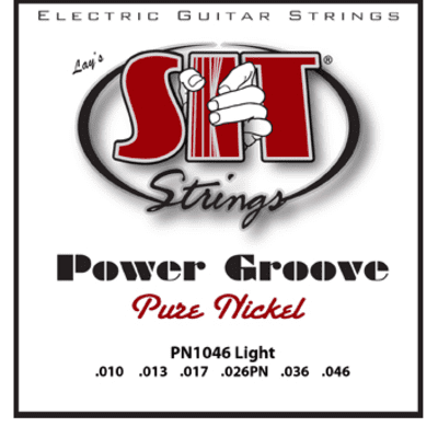 SIT Power Groove Electric Guitar Strings - Light