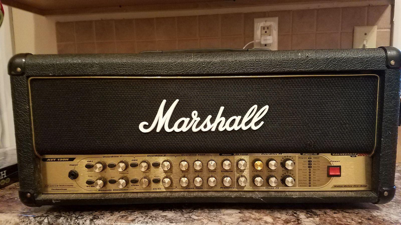 marshall avt150h 150w 4 channel valvestate guitar amp head reverb. Black Bedroom Furniture Sets. Home Design Ideas