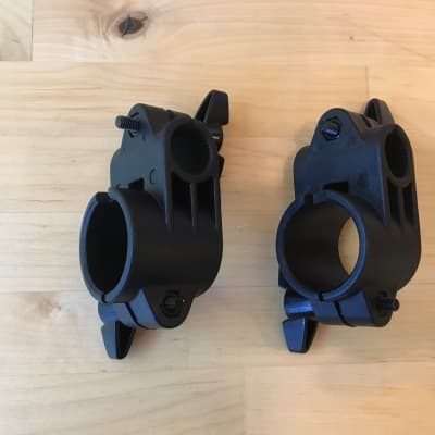 NEW- 2X Alesis SURGE/COMMAND Electronic Drum Rack Mount Clamps - 1.5 Inch - 102370013-A Black