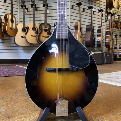 Kentucky KM-140 Standard A-Style Sitka Spruce/Mahogany Mandolin Sunburst w/Padded Gig Bag for sale