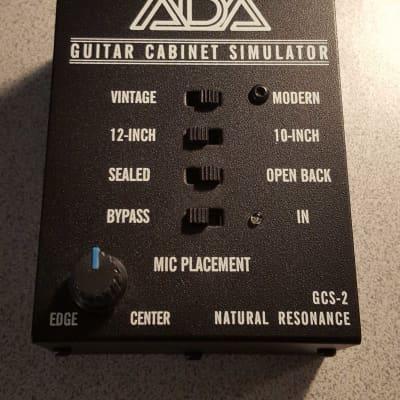 A/DA GCS-2 Cabinet Simulator and DI Box