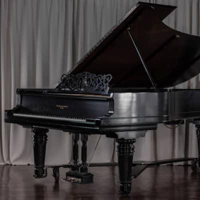 Steinertone Rebuilt 9'4 Satin Ebony Concert Grand Piano