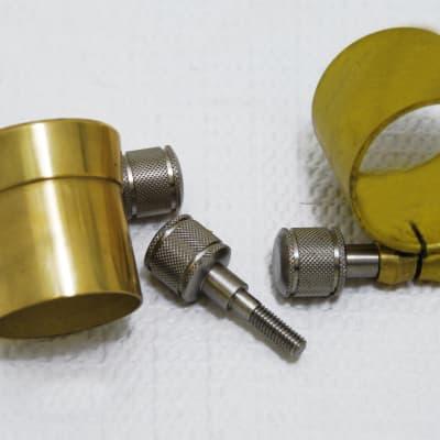 Yamaha High Torque, Top Heavy,  Machine Cut,  Saxophone Neck Screw. (Auction of One Neck Screw)