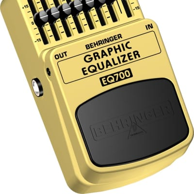 Behringer - EQ700 - Ultimate 7-Band Graphic Equalizer Pedal for sale