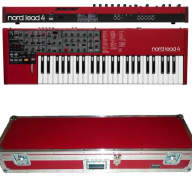 Nord Lead 4 Performance Synthesizer BRAND NEW - Lead-4 Four Synth + ATA FLIGHT CASE