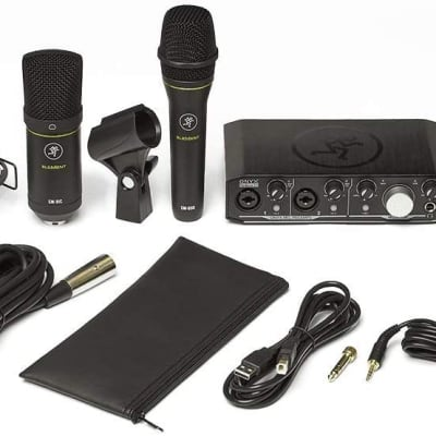 Mackie Producer Bundle with Interface, Microphones, Headphones