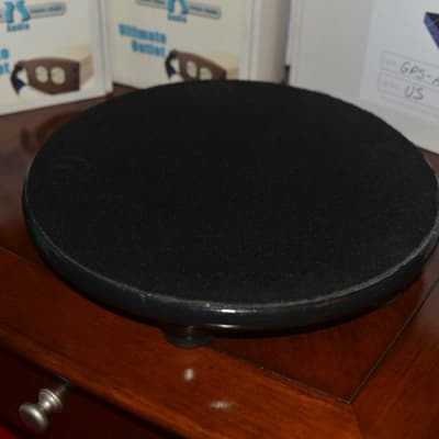 """SOLID WOOD BASE for SVS PC2000 12 Inch Cylinder Subwoofer with """"6"""" SVS Sound Path Subwoofer Isolatio"""