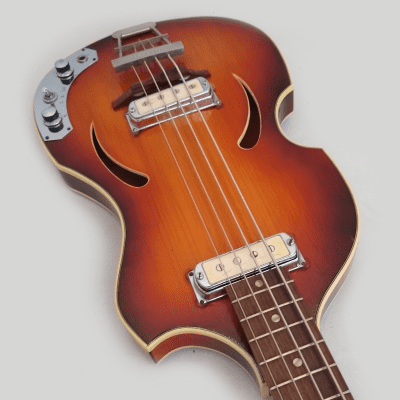 Klira Bass - 4 String - 1965 - Tobacco Burst - Made in Germany for sale
