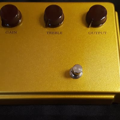 Bennett Music Labs  The Pretentious Overdrive,  your choice of Silver or Gold for sale