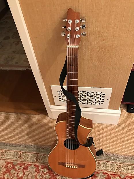 Luthier Made Top Of The Line Travel Guitar Vagabond Reverb