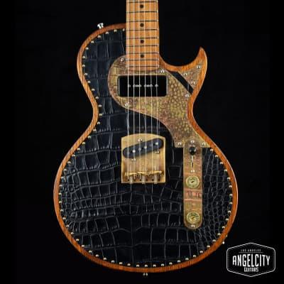 Paoletti Richard Fortus Signature Custom Leather Jr for sale