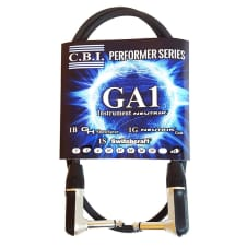 CBI American Instrument Cable GA-1 6 Ft 2 R-Angle