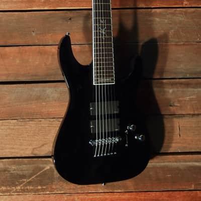 ESP LTD SC-607B 2016 Black Gloss for sale