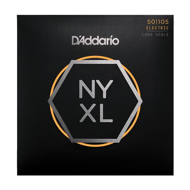 D'Addario NYXL50105, Set Long Scale, Medium, 50-105 image