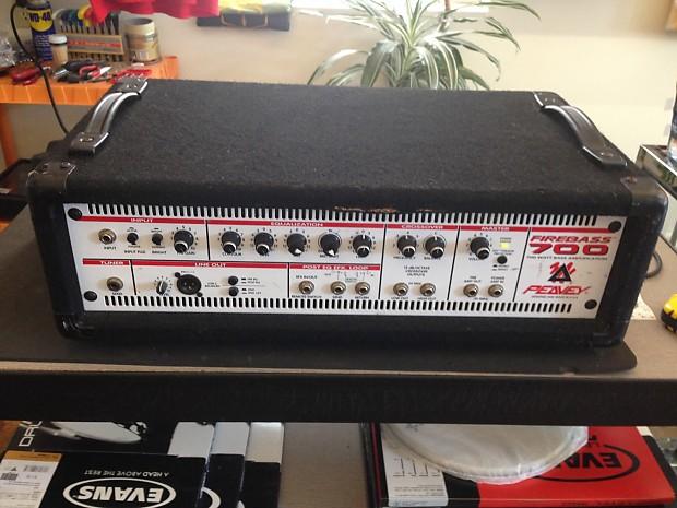 peavey firebass 700 watt electric bass guitar head amp reverb. Black Bedroom Furniture Sets. Home Design Ideas