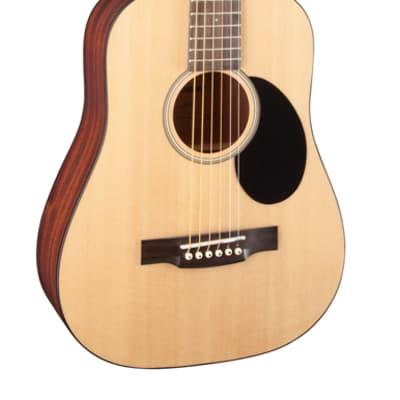 Jasmine by Takamine JM10-NAT Mini Natural Travel Acoustic Guitar with Gig Bag for sale