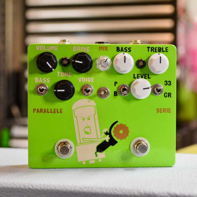 Mad Honker - GrindR->TS-808 - Green Parallel Mod
