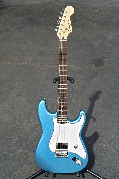 2004 Fender Squier Bullet Special Stratocaster Ice Blue ...