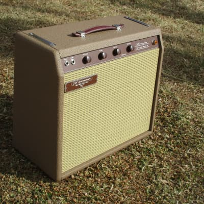 Carl's Custom Amps Classic 62 Brown 15W Brownface Princeton Style 1x10 version for sale