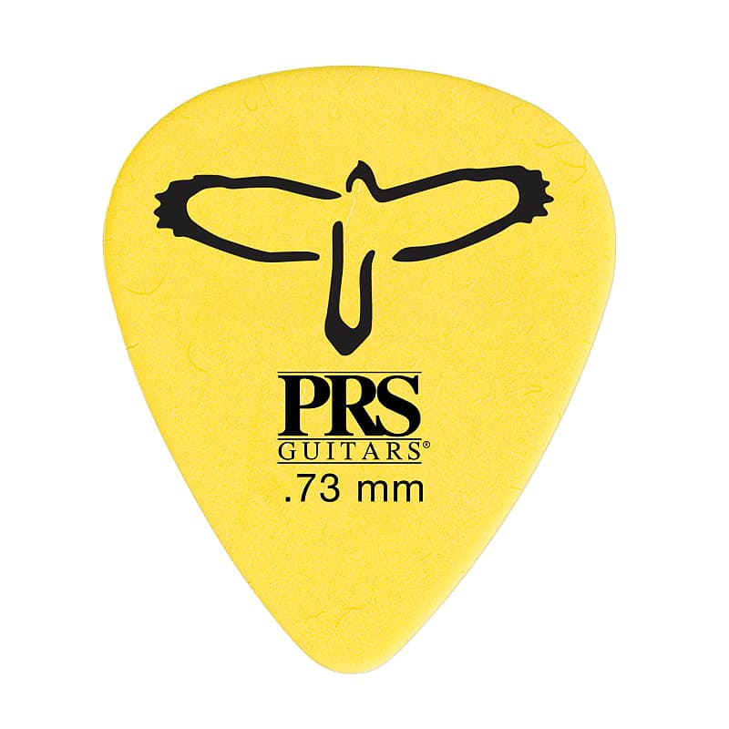 Paul Reed Smith PRS Delrin Guitar Picks (12) (0.73mm - Yellow)