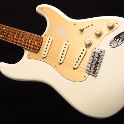 NEW Fender Custom Shop 1958 Special Stratocaster NAMM 2020 Limited Edition Aged Olympic White! for sale