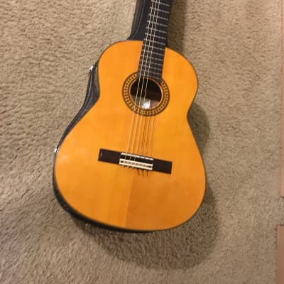 Conn C-11 classical guitar  1970s Natural made in Japan with vintage case for sale