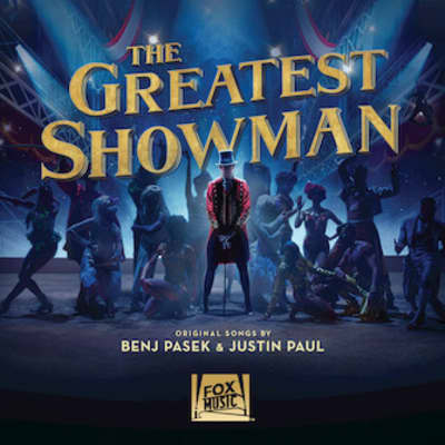 Hal Leonard Greatest Showman Alto Saxophone Play-a-Along