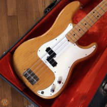 Fender Precision Bass 1972 Natural image