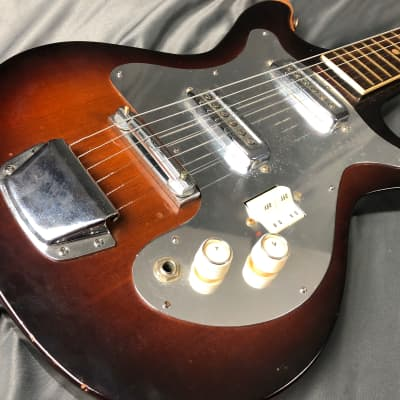 Palmer Double cut Dual Pickup Switched Rare! MIJ! 1960's Matsumoku for sale
