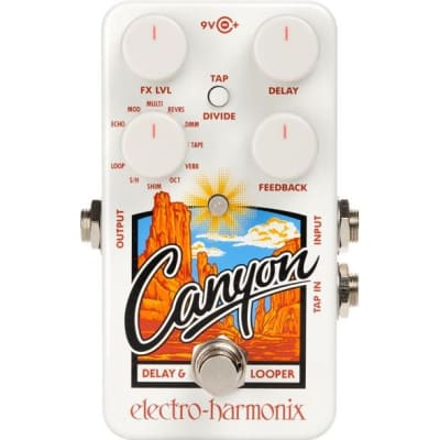 Electro-Harmonix Canyon Delay Looper Pedal for sale
